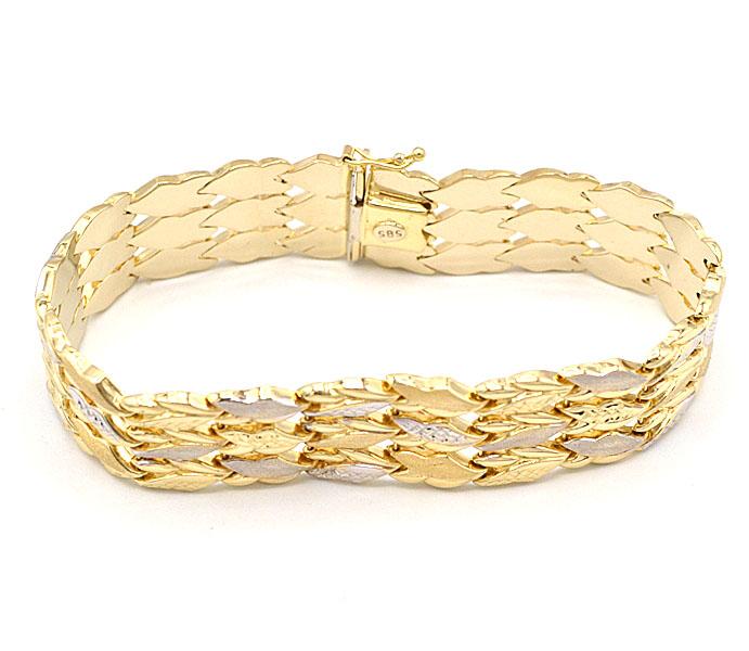Novinky - masivní zlaté šperky