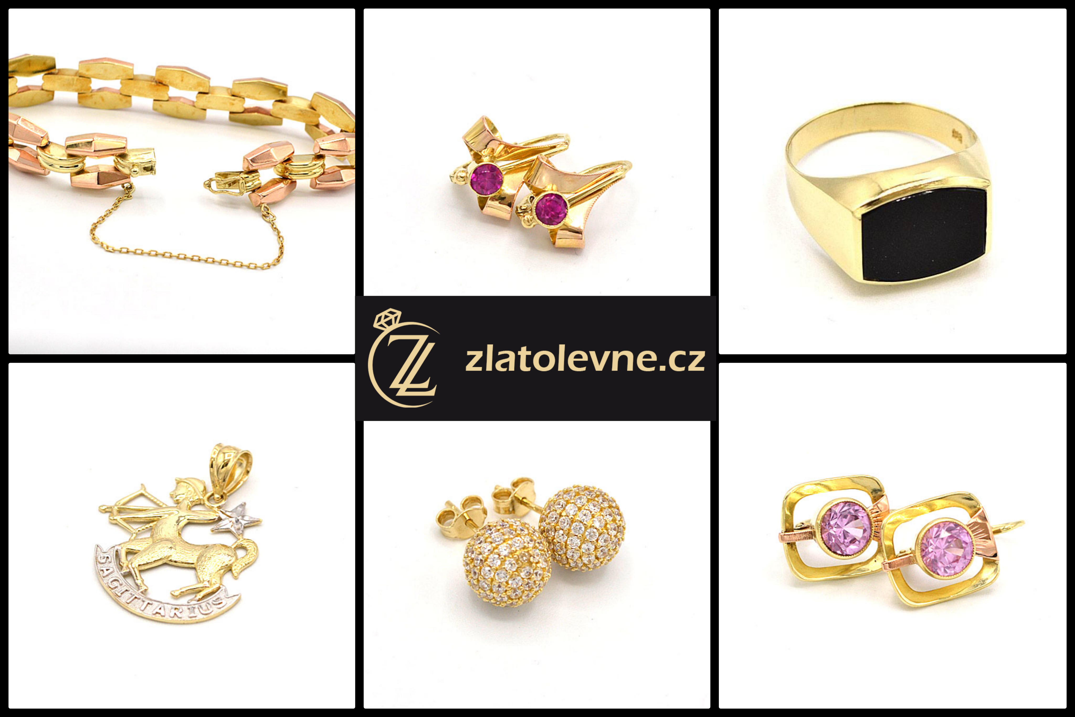 Novinky - zánovní zlaté šperky