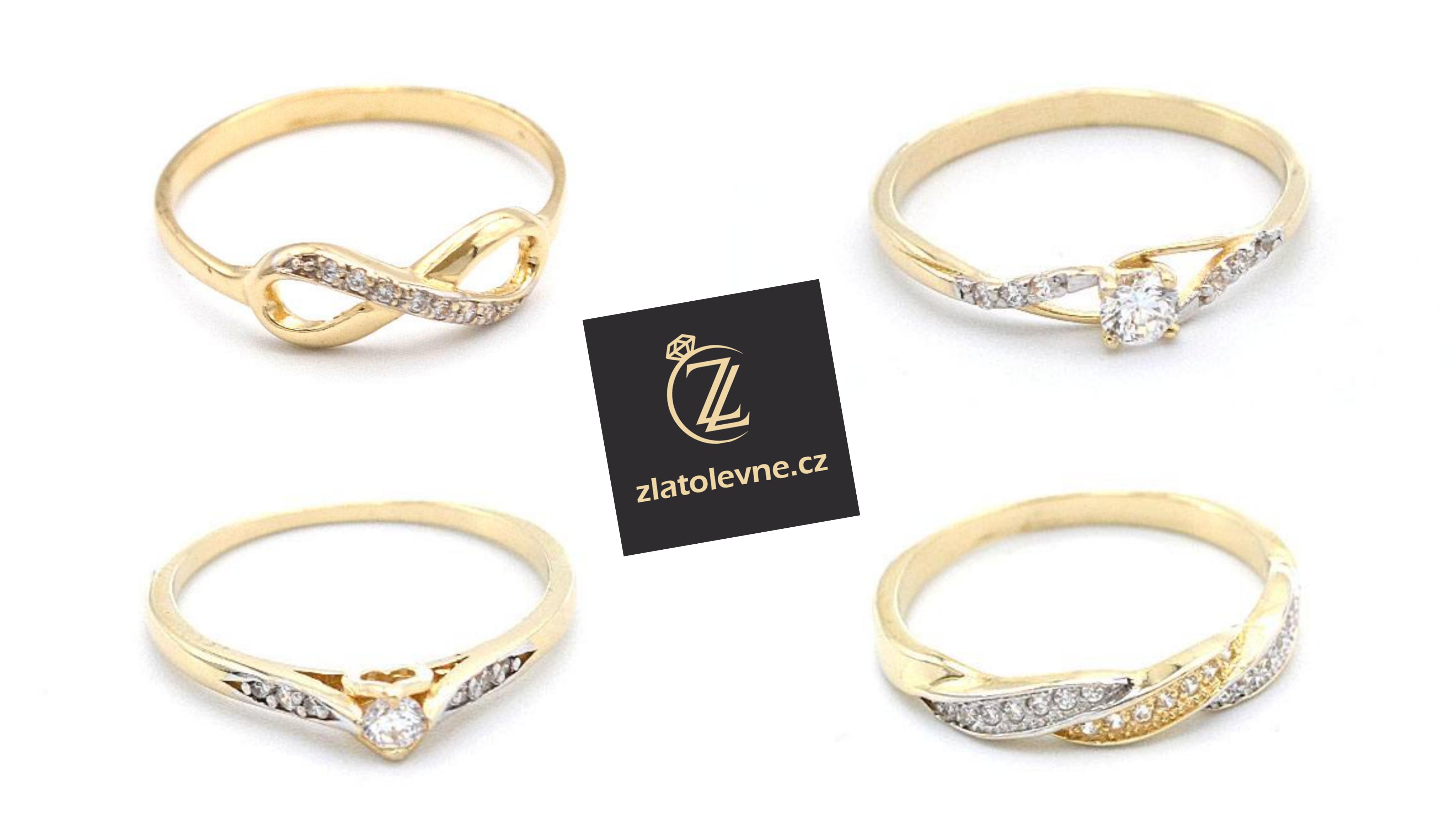 Novinky - zlaté prsteny
