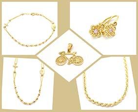 Zlaté šperky - Novinky
