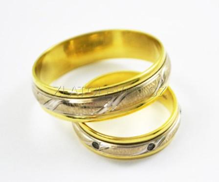 Zlate Snubni Prsteny 7 60g Zlate Sperky Zlatolevne Cz