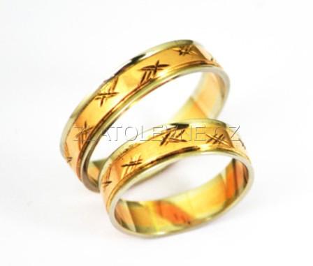 Zlate Snubni Prsteny 6 65g Zlate Sperky Zlatolevne Cz