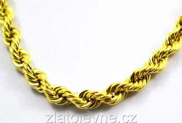 Zlatý řetízek 0fc97b3d489