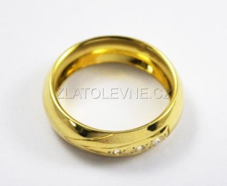 Zlaty Snubni Prsten 3 55g Zlate Sperky Zlatolevne Cz