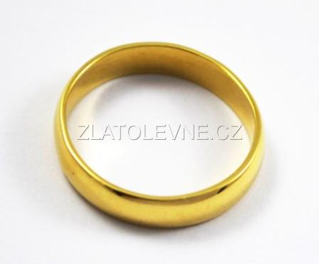 Zlaty Snubni Prsten 3 25g Zlate Sperky Zlatolevne Cz