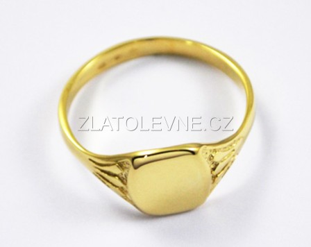 0d76fe1eba1 Zlatý prsten pánský 4,05g   Zlaté šperky, prsteny, řetízky ...